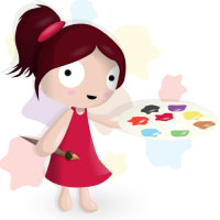 Little Painter Girl