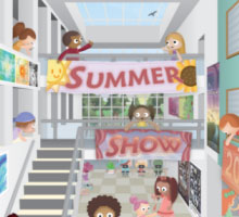 Summer Show Illustration